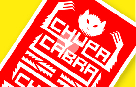 chupacabra logo ,logo design london