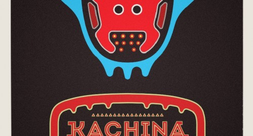 Kachina extraterestial visitor ,graphic designer london