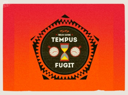 tempus fugit,time flees ,logo ,graphic designer london,wimbledon
