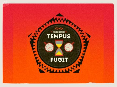 tempus fugit,time flees ,logo ,graphic designer london,wimbledon