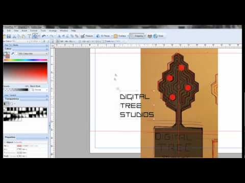 how to design a professional logo in vector program