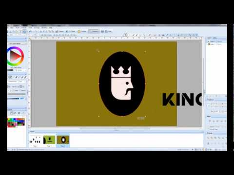 How to design a logo using vector program ,London graphic design
