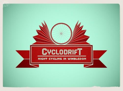 london cycling group,badge logo designer,cyclodrift,night riding london,visualrevolt,vintage style logo