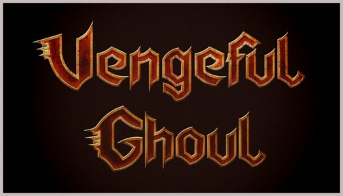Graphic designer ,metal bands logos,vengeful ,ghoul, custom designed typography,visualrevolt