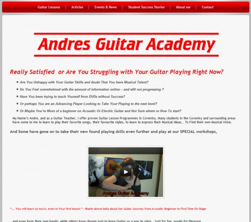 andreas-guitar-academy