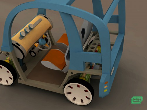 3d product designer,three dimensional graphics,electric two person vehicle,visualrevolt