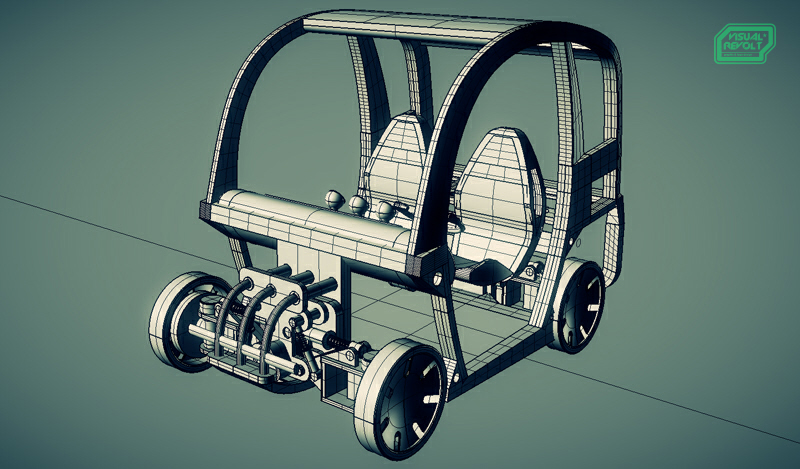 3d product presentation,visualrevolt,modular car,lego brick build vehicales,graphic designer london