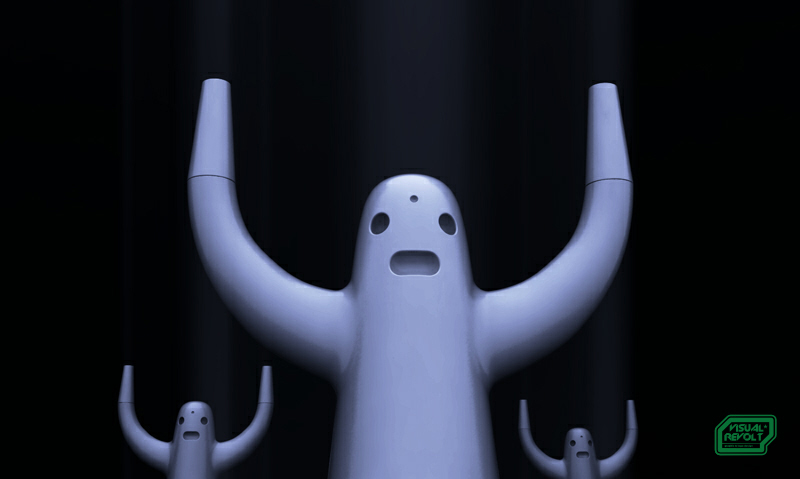 sculpture-ghost,-golem-creature,3d-designer-uk,-london-product-designer