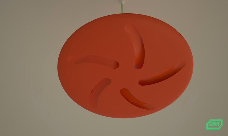 ceiling fan, product designer london, fan designers, visualrevolt