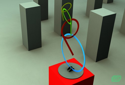 constructivism style, mobile sculpture,visualrevolt, graphic designer london, 3d services uk
