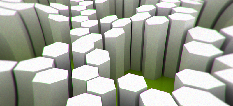 hex-structur,-honeycomb-3d-graphic-designer-london