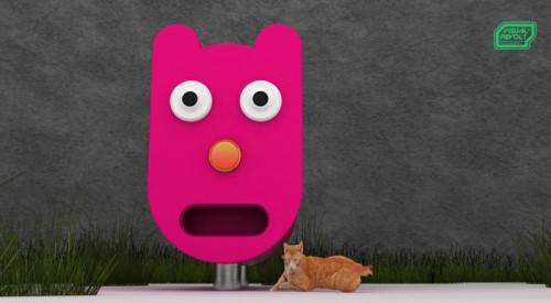 unusual kennels for animals, product designer london, graphics rendering, vsualrevolt