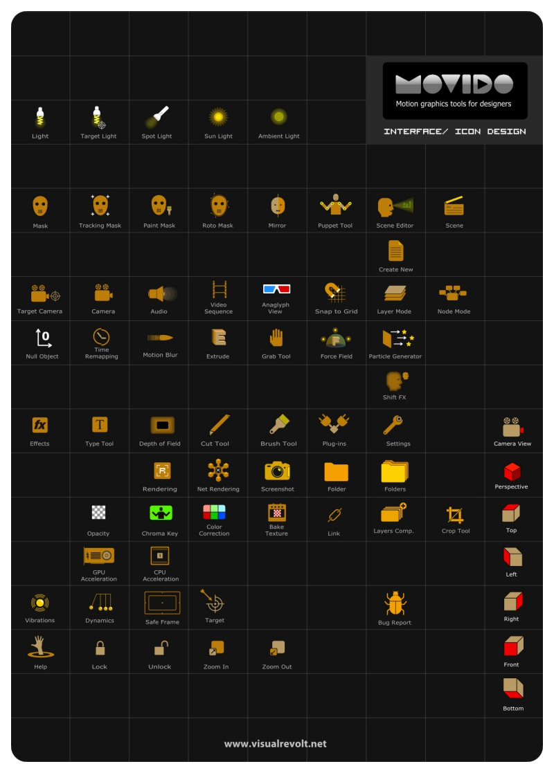 after effects alternative, motion graphics software,movido, visualrevolt, icons