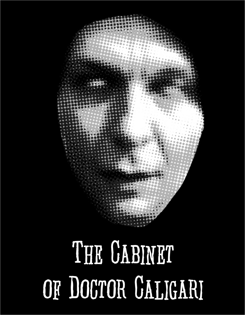 the-cabinet-of-doctor-caligari-poster,visualrevolt, graphic designer london, logo