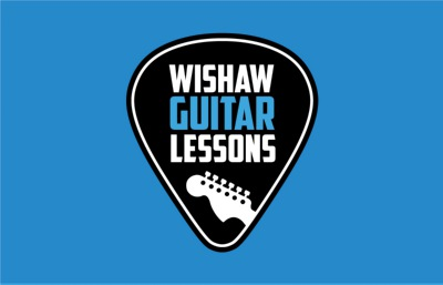 logo wishaw guitar lessons,visualrevolt, graphic designer london