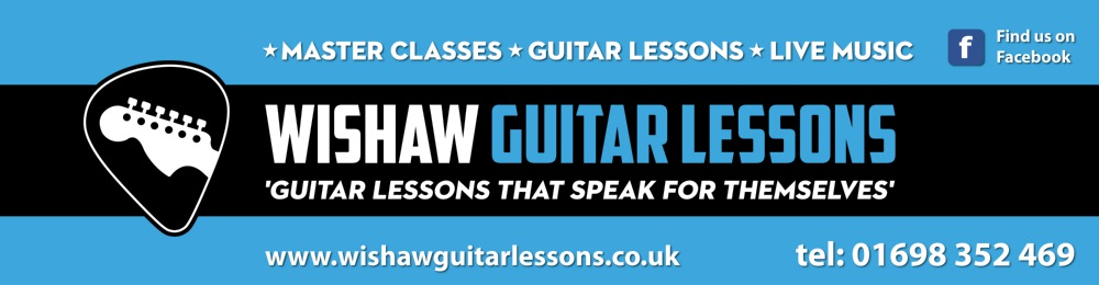 Event banners and roll-up banners for Wishaw School of Guitar ...