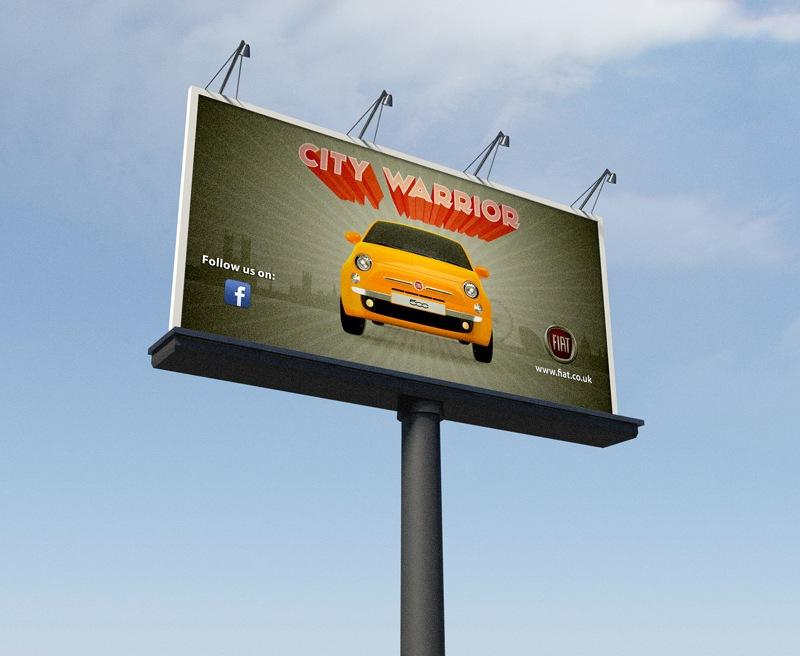 fiat500-bilboard,-visualrevolt,-graphic-designer-london,-poster,-logo-designs
