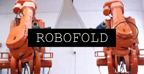 robofold, makers guild event, visualrevolt, graphic designer london, product design, abb robots